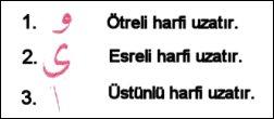 UZATMA HARFLERİ